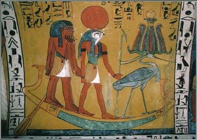 نقاشی ساختمان در مصر