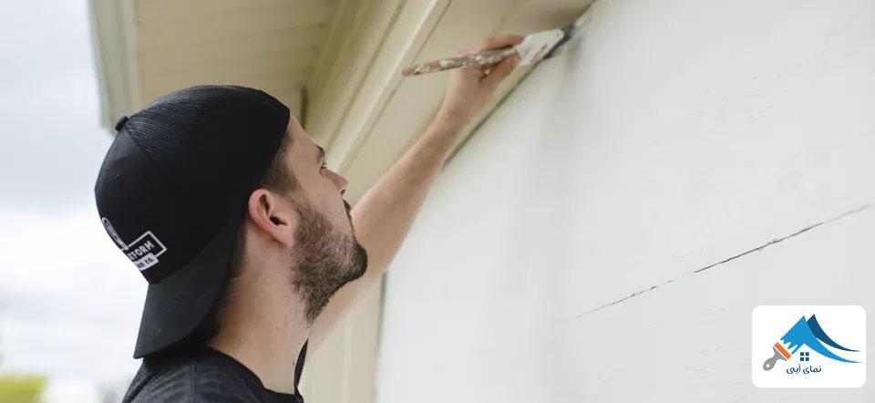 تاثیر نقاشی ساختمان در فروش خانه